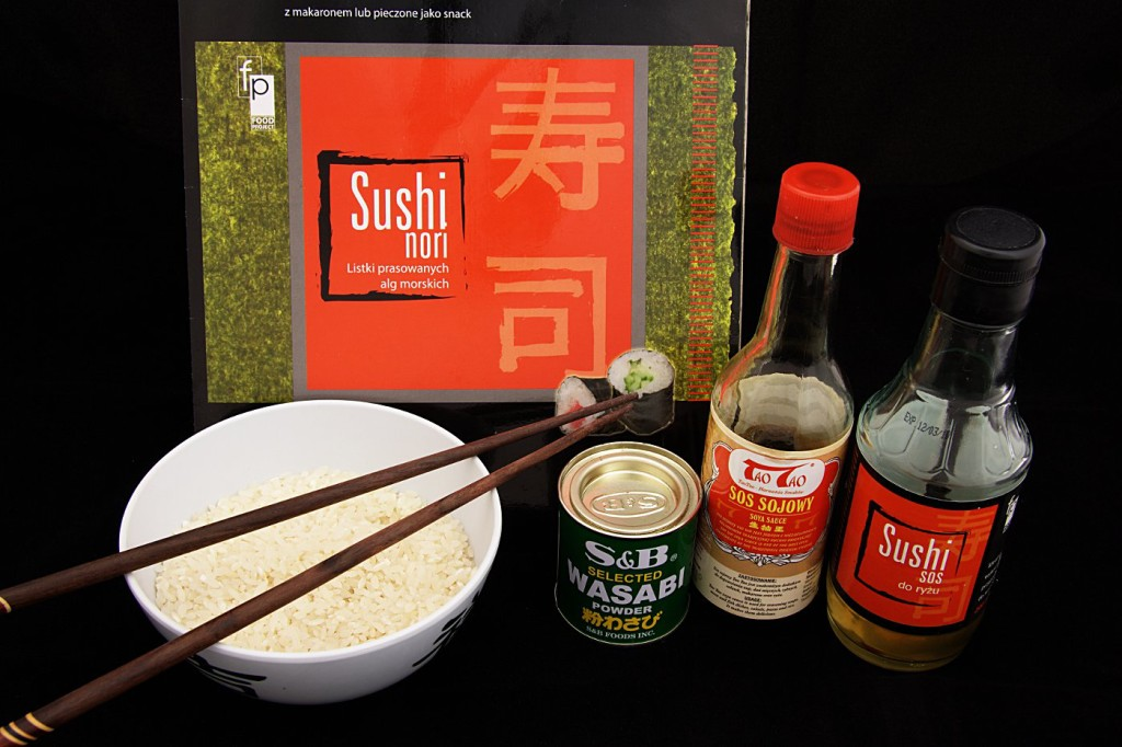 Sushi wegetariańskie