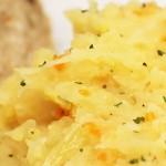 Kapusta z grochem i ziemniakami
