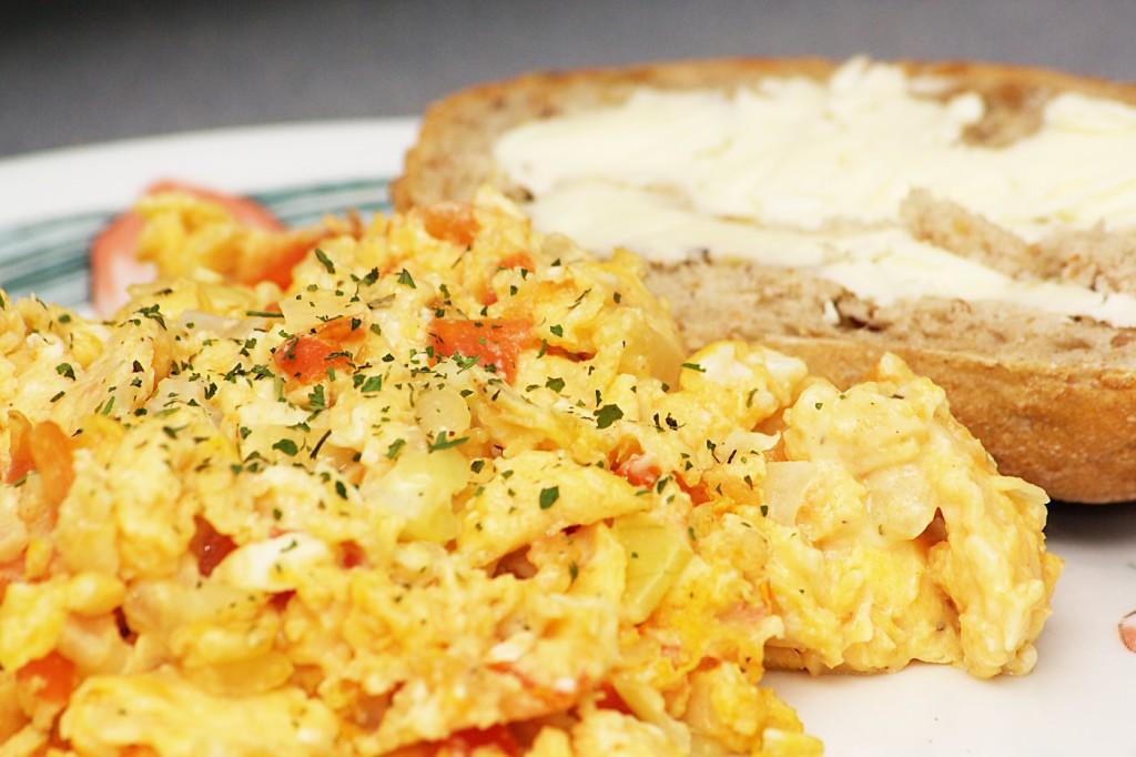 Jajecznice wegetariańskie