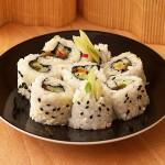 Uramaki wegetariańskie (sushi)