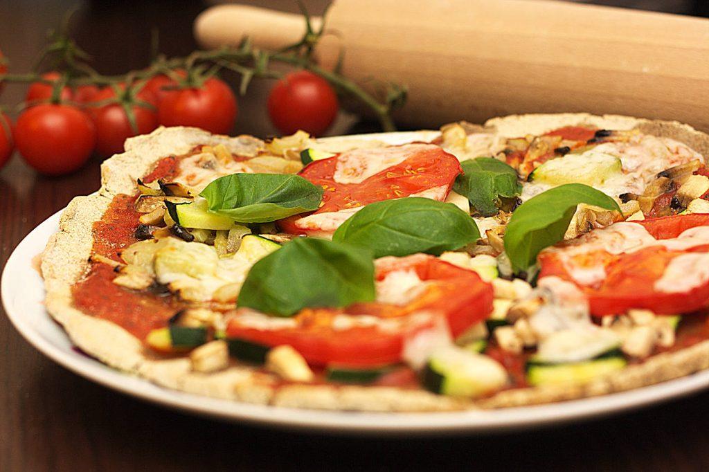 Pizza gryczana (bez drożdży)